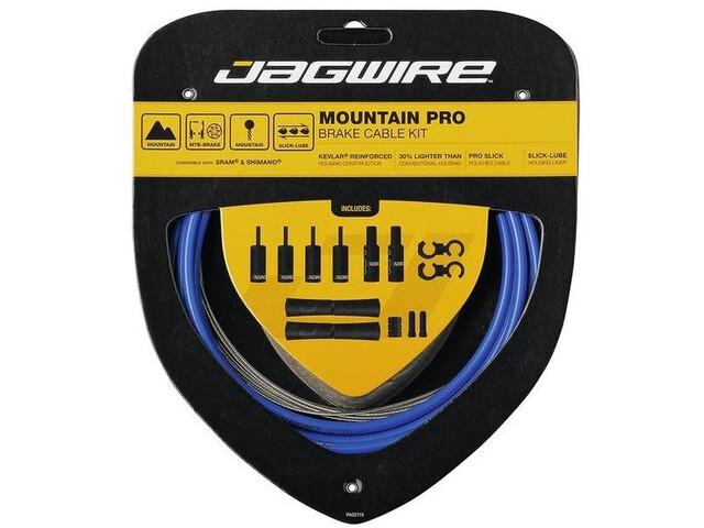 Jagwire Mountain Pro Brake Cable Kit, sid-blue
